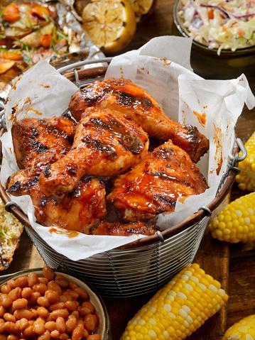 Chicken Wing「BBQ Chicken Feast」:スマホ壁紙(6)