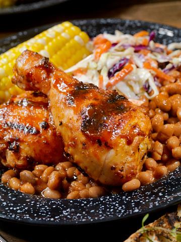 Potluck「BBQ Chicken Feast」:スマホ壁紙(9)