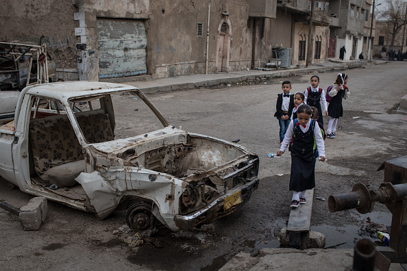 Chris McGrath「The City Of Mosul Comes Back To Life Five Months After ISIS Defeat」:写真・画像(12)[壁紙.com]