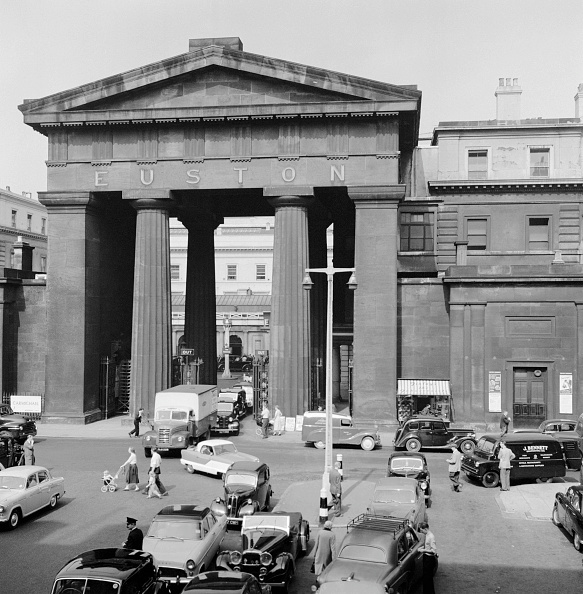 Euston Station「Euston Arch」:写真・画像(6)[壁紙.com]