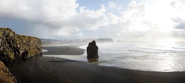 Dyrholaey「Rock-stack, Dyrholaey, Iceland」:スマホ壁紙(15)