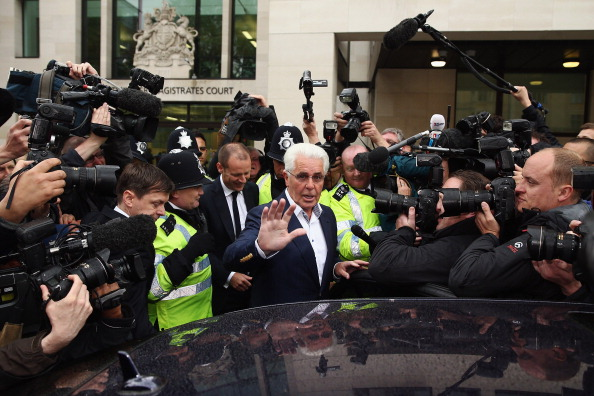 Max Clifford「Publicist Max Clifford Appears At Court On Sexual Assault Charges」:写真・画像(6)[壁紙.com]