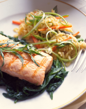 Tarragon「Salmon on spinach with tarragon」:スマホ壁紙(18)