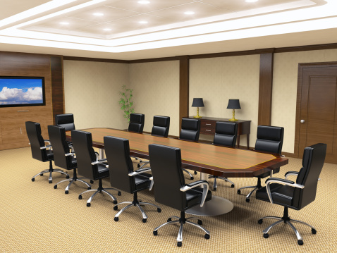Conference Call「Office Board Room Interior」:スマホ壁紙(19)
