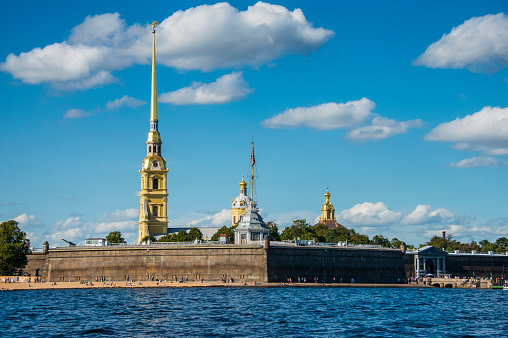 Neva River「Peter and Paul Fortress from the river Neva, St. Petersburg, Russia」:スマホ壁紙(11)