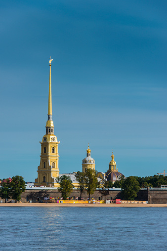 Neva River「Peter and Paul Fortress from the river Neva, St. Petersburg, Russia」:スマホ壁紙(18)