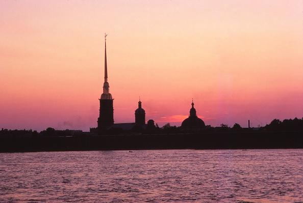 St「Leningrad USSR - Peter + Paul Forteess And River Neva At Sunset」:写真・画像(1)[壁紙.com]