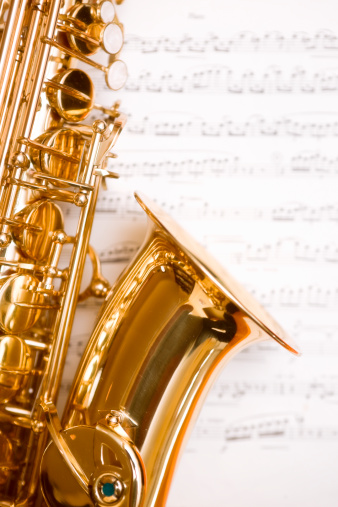 Rock Music「Dreamy saxophone on music」:スマホ壁紙(11)