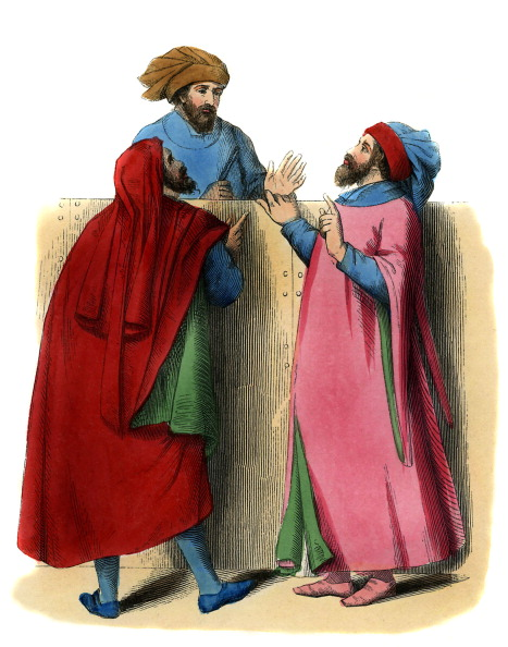 Circa 14th Century「Italian artisans - male costume of 14th century」:写真・画像(16)[壁紙.com]