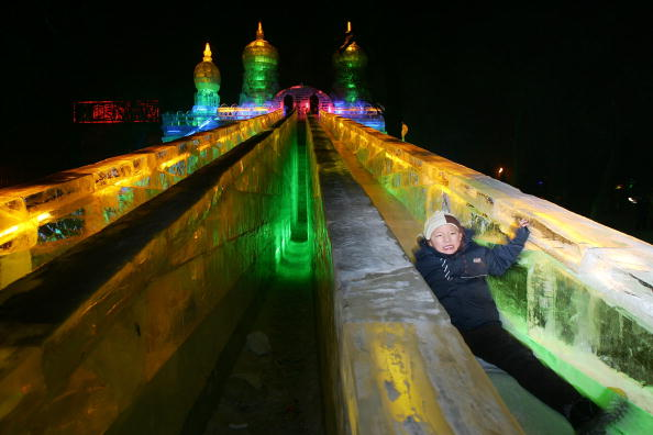 Harbin Ice Festival「Annual Harbin Ice Festival Kicks Off」:写真・画像(9)[壁紙.com]