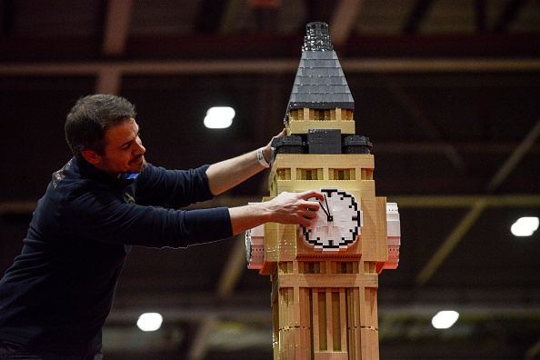 Time「Finishing Touches Are Applied To The Brick Lego Expo 2015」:写真・画像(17)[壁紙.com]