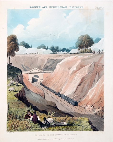 Hand Colored「Entrance To The Tunnel At Watford」:写真・画像(19)[壁紙.com]