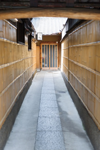 Higashiyama-ku - Kyoto「Entrance to a restaurant」:スマホ壁紙(5)