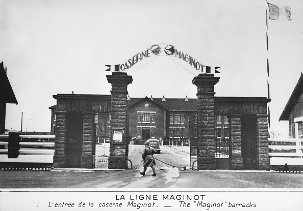 Ardennes Forest「Entrance to the Maginot barracks, Maginot Line, France, c1935-1940. Artist: Anon」:写真・画像(12)[壁紙.com]