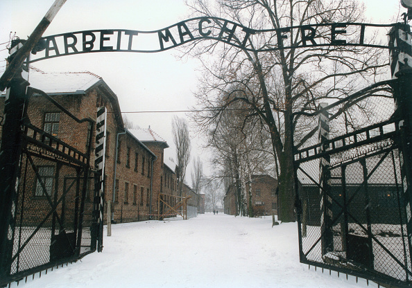 Entrance「Entrance To The Concentration Camp Auschwitz-Birkenau. Poland. Photograph From 1995.」:写真・画像(14)[壁紙.com]