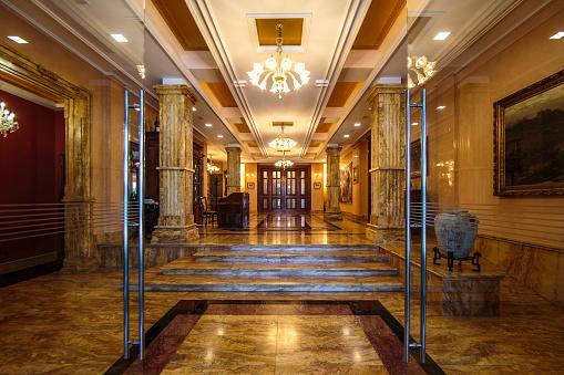 Ancient Greece「Entrance to luxury lobby」:スマホ壁紙(12)