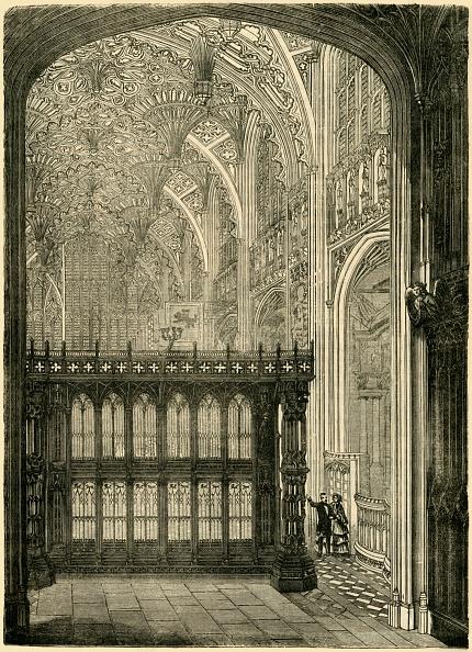 Ceiling Fan「Entrance To King Henry ViiS Chapel」:写真・画像(14)[壁紙.com]