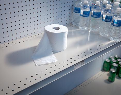 Market Stall「Bathroom Tissue Empty Shelves」:スマホ壁紙(5)
