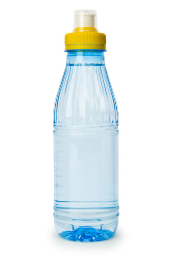 Clean「Bottle of water isolated on the white background」:スマホ壁紙(18)