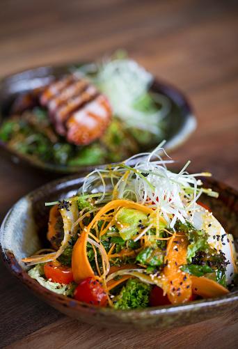 Sesame「Salad with sesame」:スマホ壁紙(8)