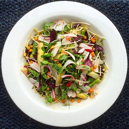 Radish「Salad with asparagus and radish」:スマホ壁紙(19)