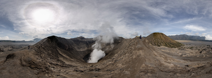 Active Volcano「Mt Bromo and surrounding Caldera」:スマホ壁紙(5)
