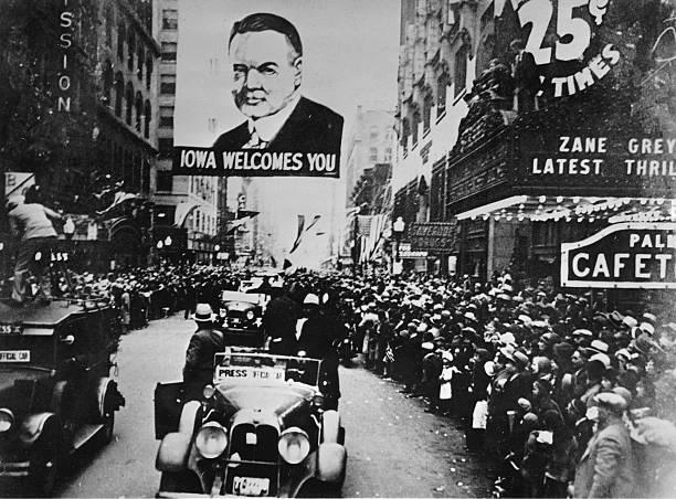 President Herbert Hoover In Des Moines:ニュース(壁紙.com)