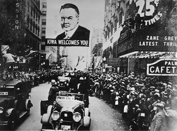 Politics and Government「President Herbert Hoover In Des Moines」:写真・画像(17)[壁紙.com]
