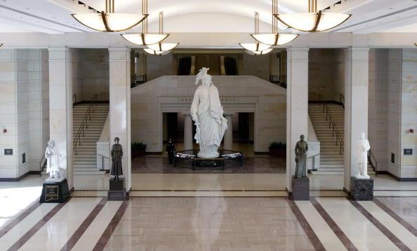 Architectural Feature「U.S. Capitol Visitor Center Prepares To Open To Public」:写真・画像(9)[壁紙.com]