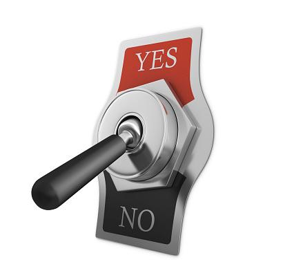Start Button「YES - NO Switch」:スマホ壁紙(12)