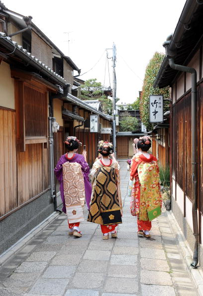 日本文化「Cherry Blossoms In Bloom In Kyoto」:写真・画像(15)[壁紙.com]