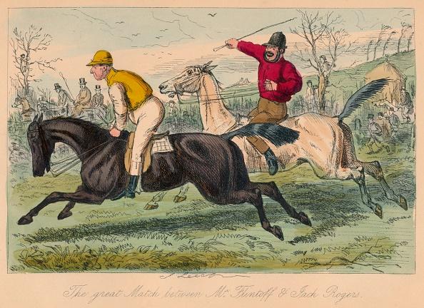 Etching「'The Great Match Between Mr. Flintoff & Jack Rogers', 1858」:写真・画像(7)[壁紙.com]