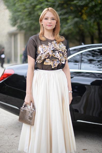 Wristwatch「Christian Dior : Street Style - Paris Fashion Week Womenswear Spring/Summer 2017」:写真・画像(5)[壁紙.com]