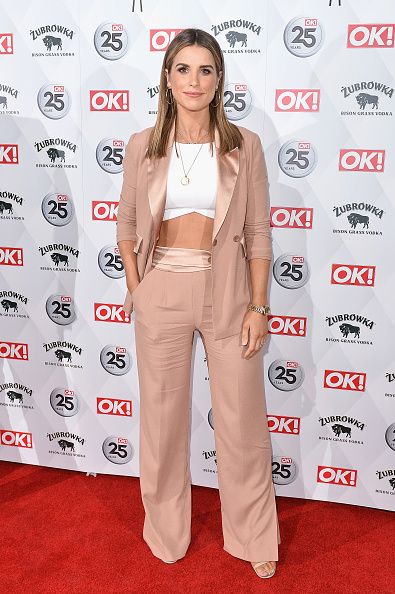 Gold Chain Necklace「OK! Magazine 25th Anniversary Party - Arrivals」:写真・画像(19)[壁紙.com]