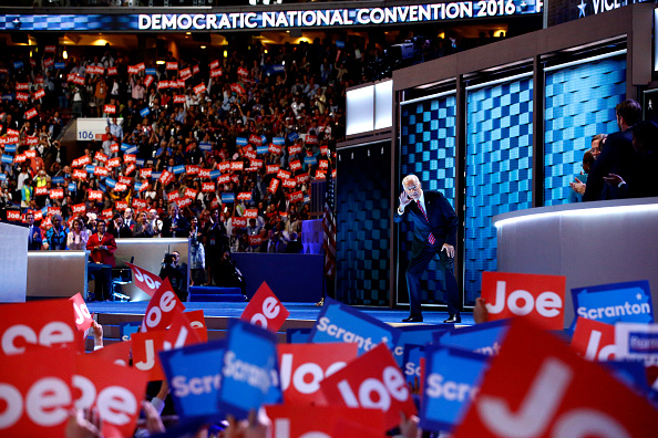 Wells Fargo Center - Philadelphia「Democratic National Convention: Day Three」:写真・画像(3)[壁紙.com]