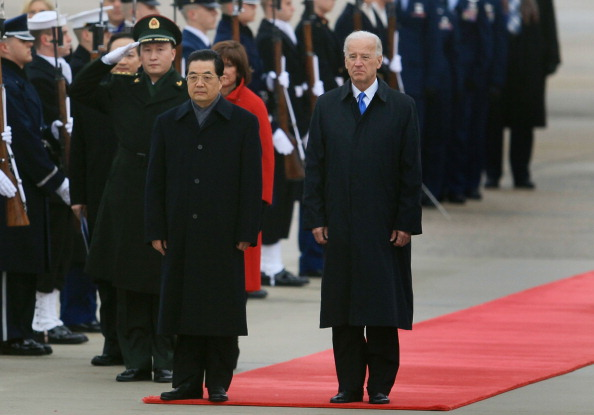 Maryland - US State「Biden Leads Delegation At Arrival Ceremony For Chinese President To U.S.」:写真・画像(14)[壁紙.com]