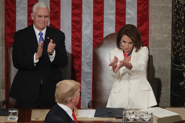 Vice President「President Trump Delivers State Of The Union Address To Joint Session Of Congress」:写真・画像(4)[壁紙.com]