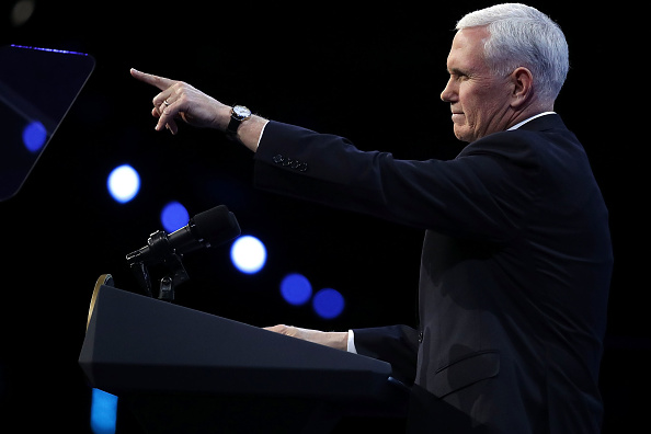 Strategy「Mike Pence And Nikki Haley Address Annual AIPAC Conference In Washington」:写真・画像(5)[壁紙.com]