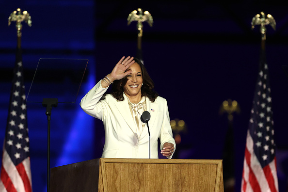 Speech「President-Elect Joe Biden And Vice President-Elect Kamala Harris Address The Nation After Election Win」:写真・画像(7)[壁紙.com]