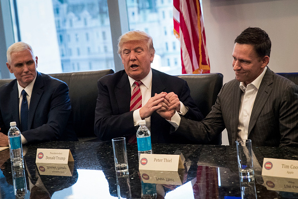 New York City「Trump Holds Summit With Technology Industry Leaders」:写真・画像(0)[壁紙.com]