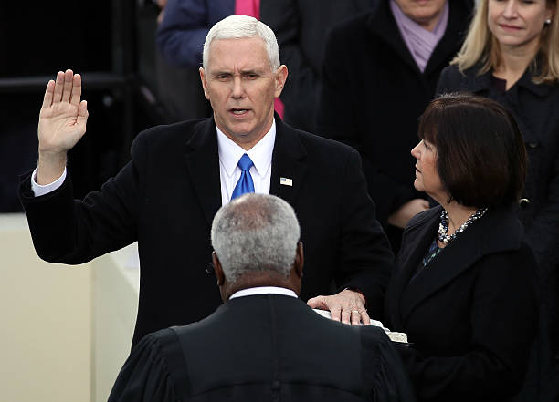 Donald Trump Is Sworn In As 45th President Of The United States:ニュース(壁紙.com)