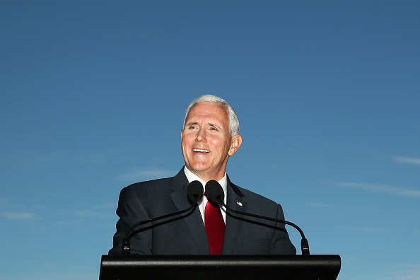 笑顔「US Vice President Mike Pence Visits Sydney - Day 1」:写真・画像(13)[壁紙.com]