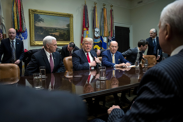 Wilbur Ross「Trump Meets With Congressional Lawmakers At The White House」:写真・画像(7)[壁紙.com]