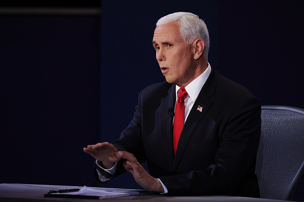 Participant「Mike Pence And Kamala Harris Take Part In Vice Presidential Debate」:写真・画像(11)[壁紙.com]