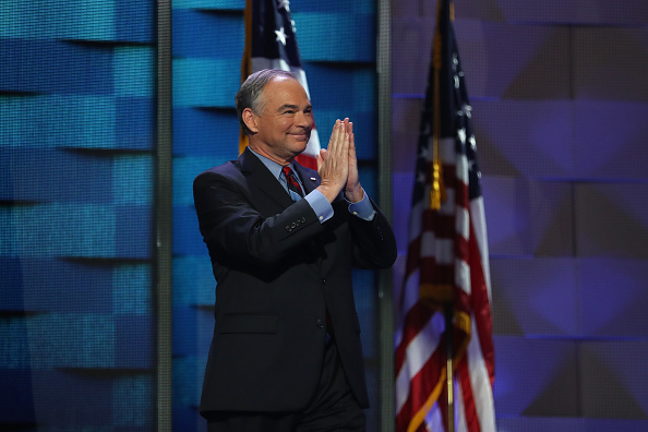 Timothy Kaine「Democratic National Convention: Day Three」:写真・画像(14)[壁紙.com]