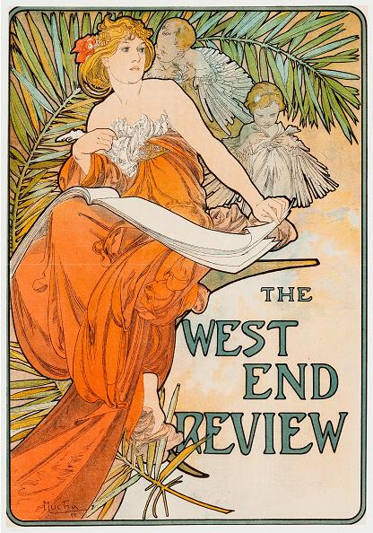 アールヌーボー「West End Review」:写真・画像(19)[壁紙.com]