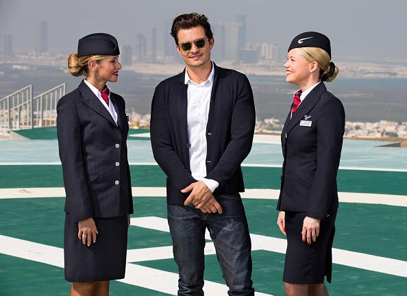 オーランド・ブルーム「Orlando Bloom, Margot Robbie & Jessie J at British Airways 787-9 Route Launch」:写真・画像(9)[壁紙.com]