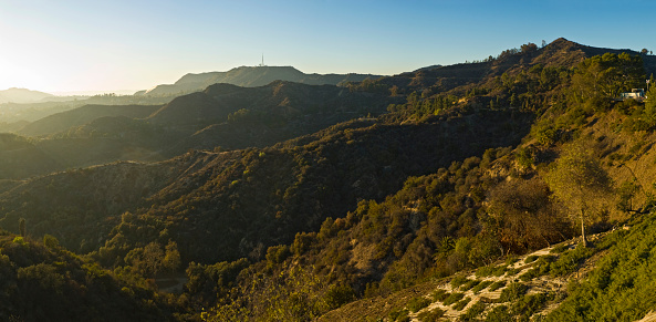 National Recreation Area「Hollywood Hills sunset」:スマホ壁紙(18)