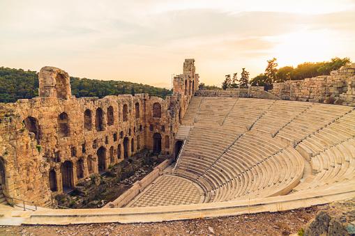 Ancient Greece「Greece, Athens, Acropolis, Theatre of Dionysus」:スマホ壁紙(16)