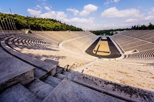 オリンピック「Greece, Athens, Panathinaikos stadium of Olympic Games1896」:スマホ壁紙(19)